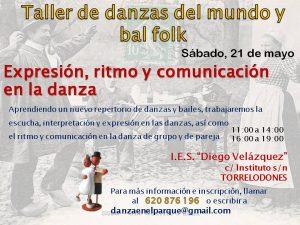 1605 Taller de Danzas del Mundo y bal folk Instituto